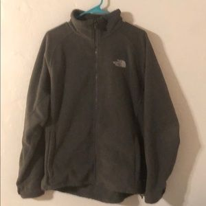 Men's Large North Face Fleece Jacket
